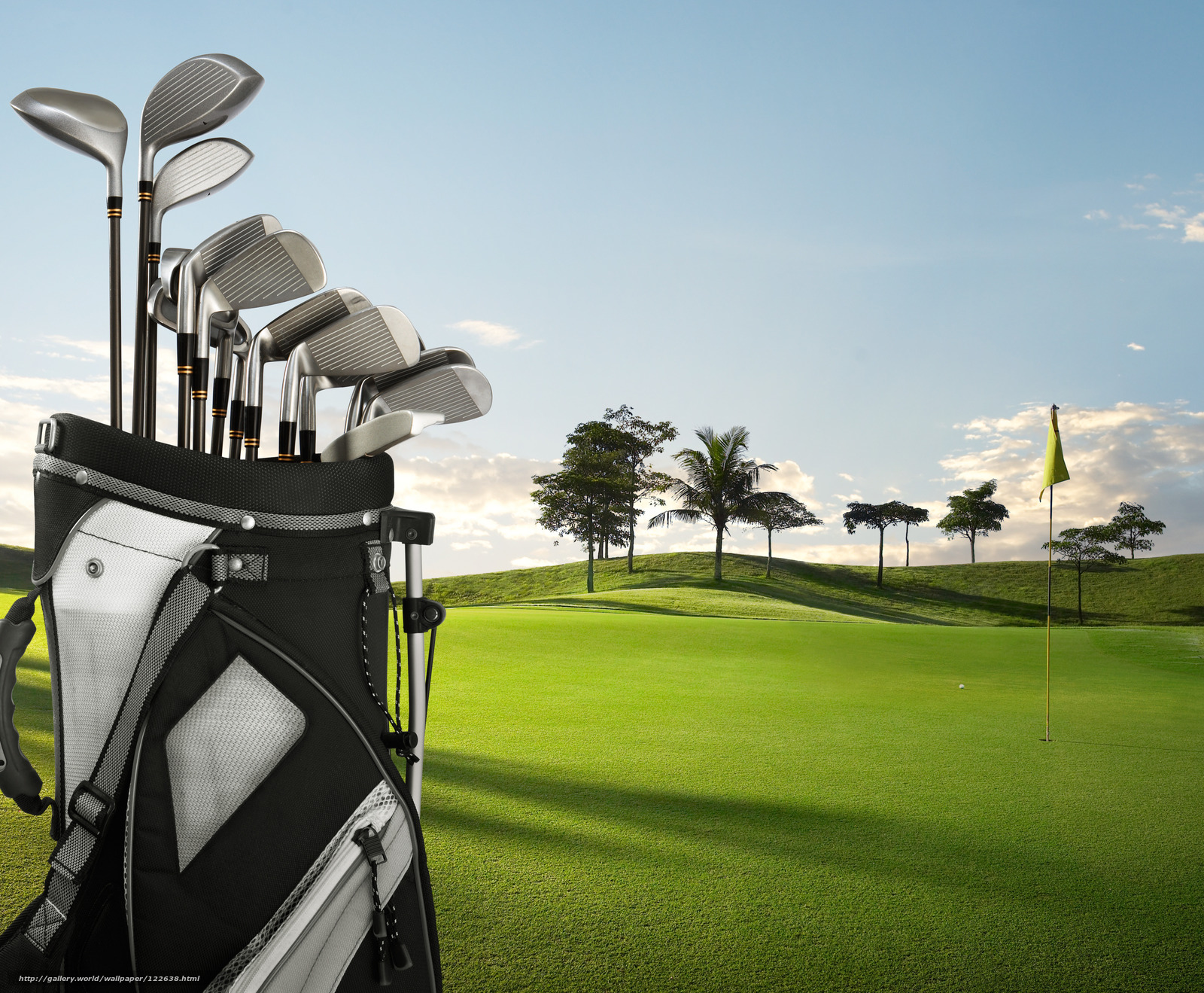 Desktop Wallpaper Golf Desktop Wallpaper 1600x1319