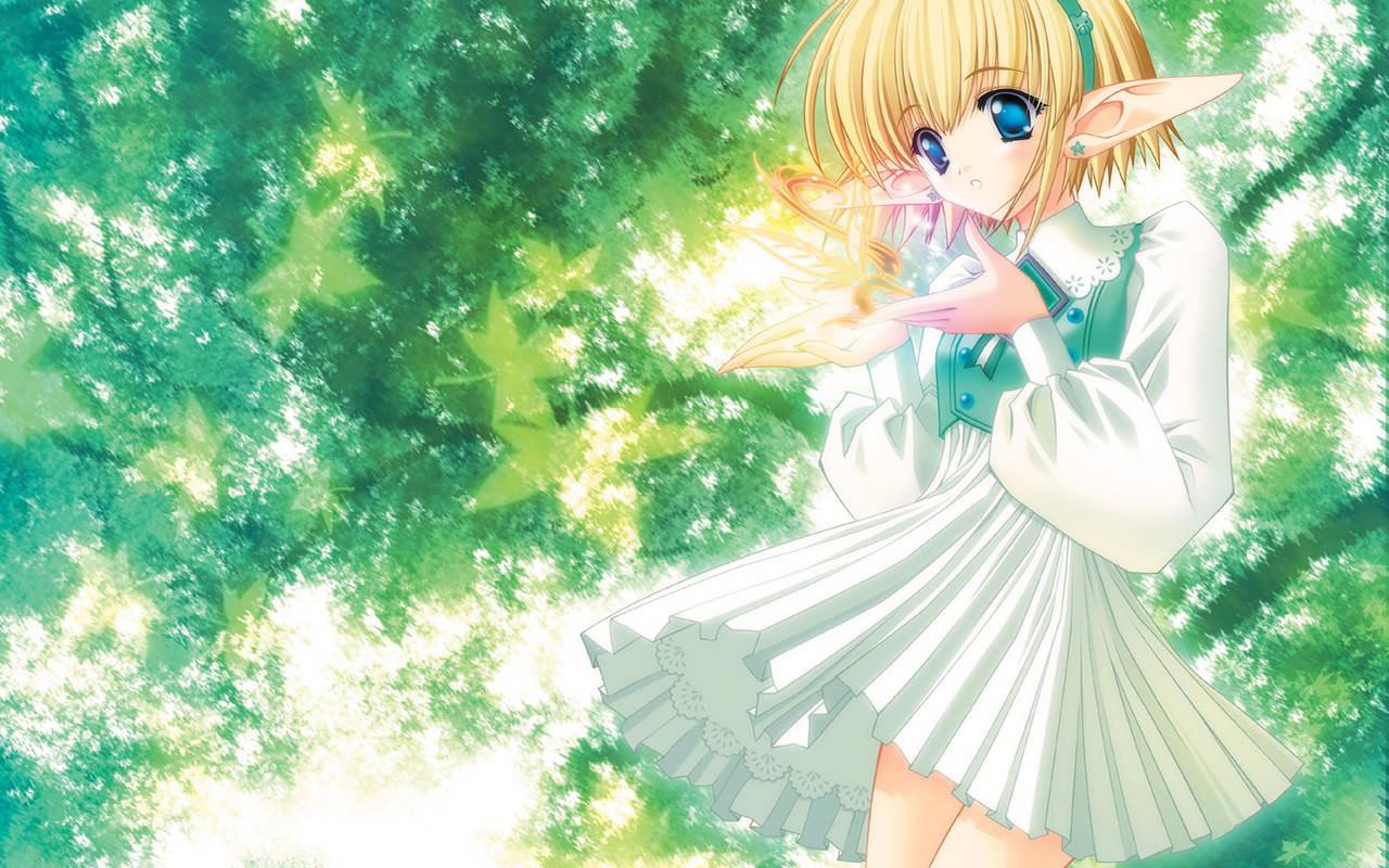 Manga Girl Wallpaper 1280x800 1280x800