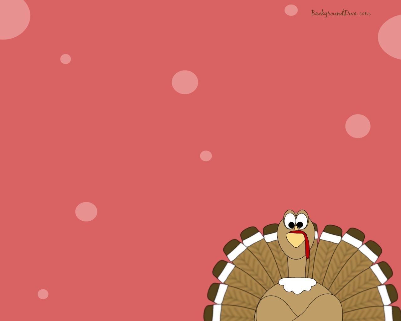Funny Thanksgiving Wallpaper Cute thanksgiving turkey 1280x1024
