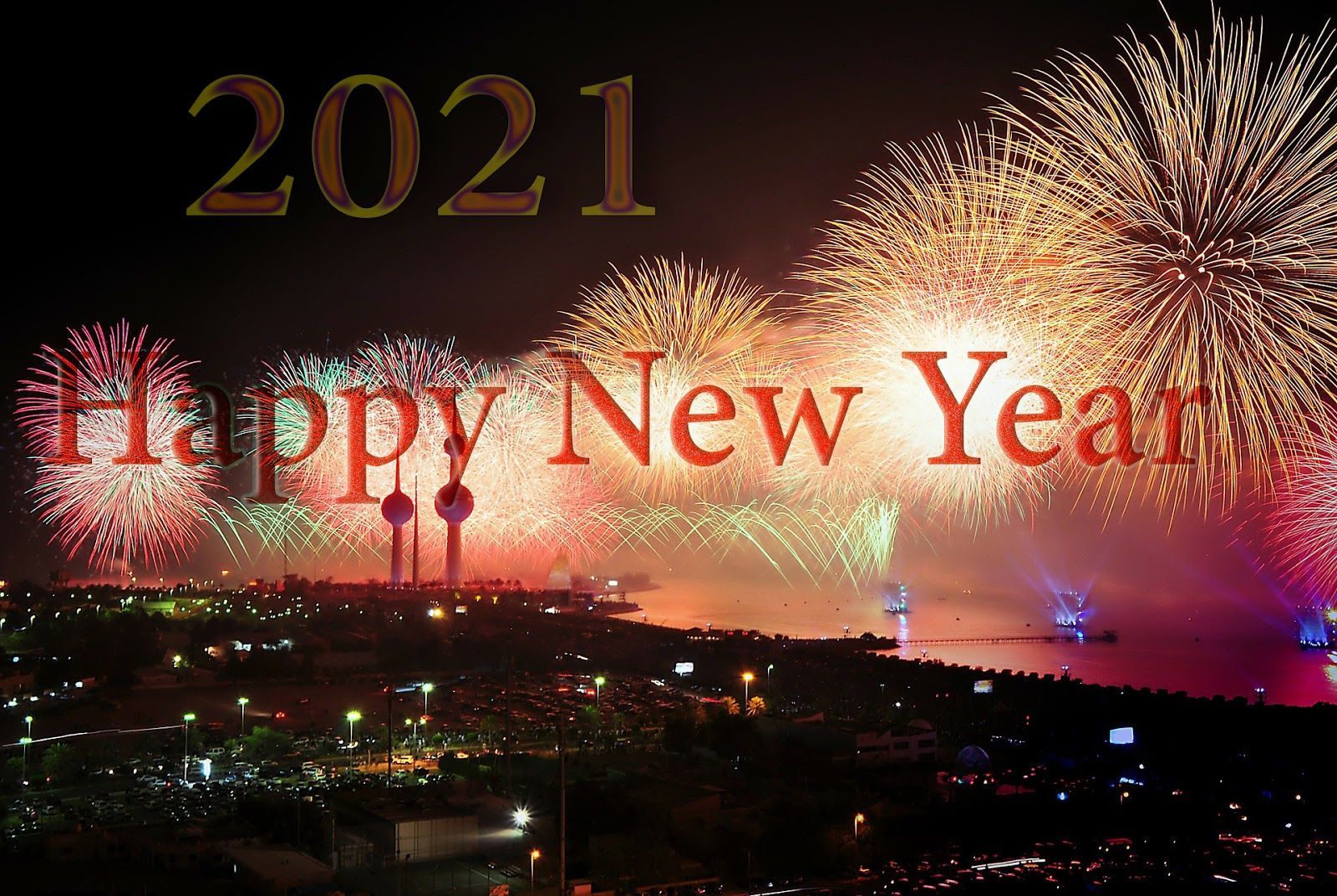 Happy New Year 2021 Wallpapers 1600x1072