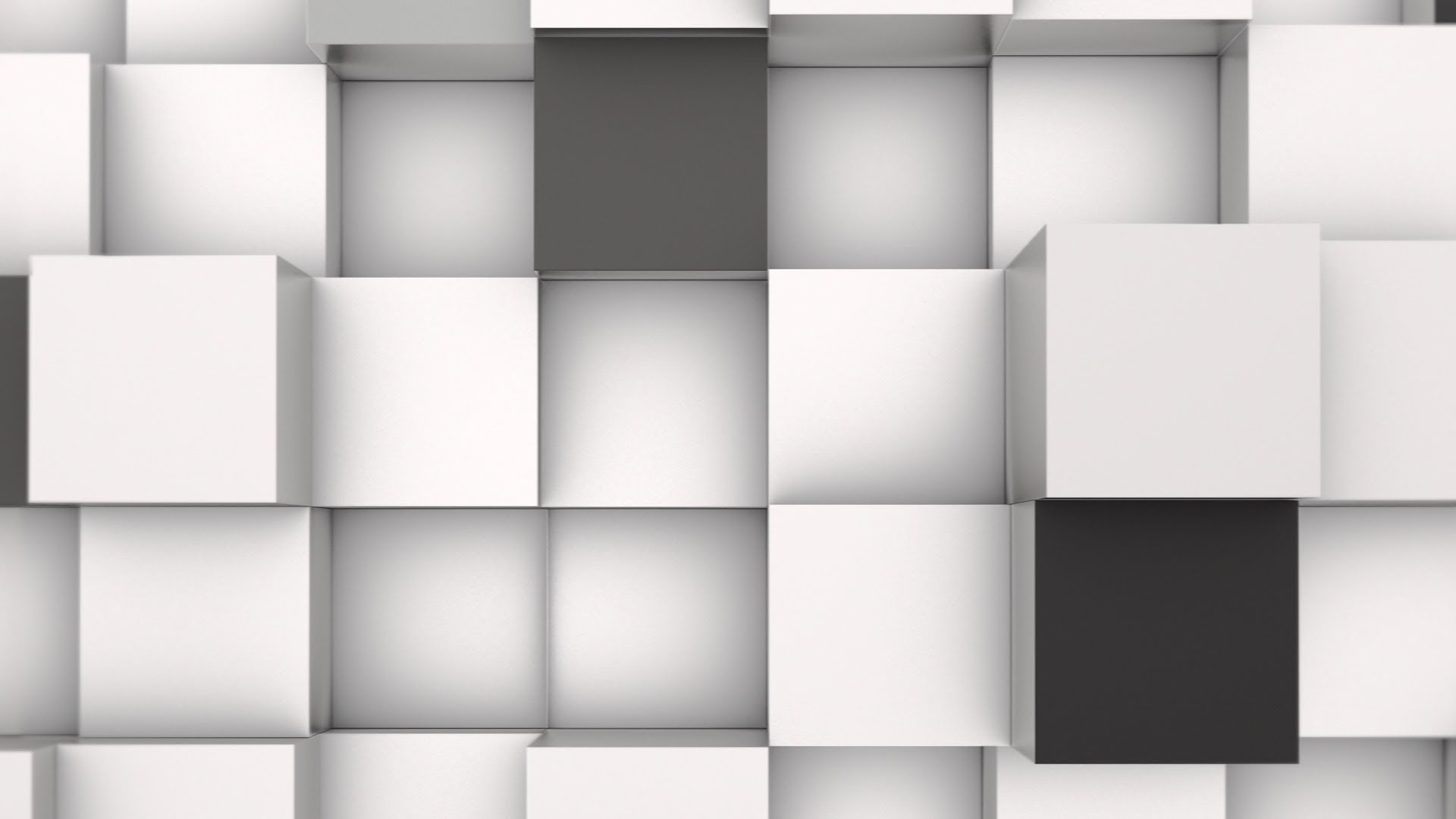 White 3d background wallpapersafari for Black and white wallpaper 3d