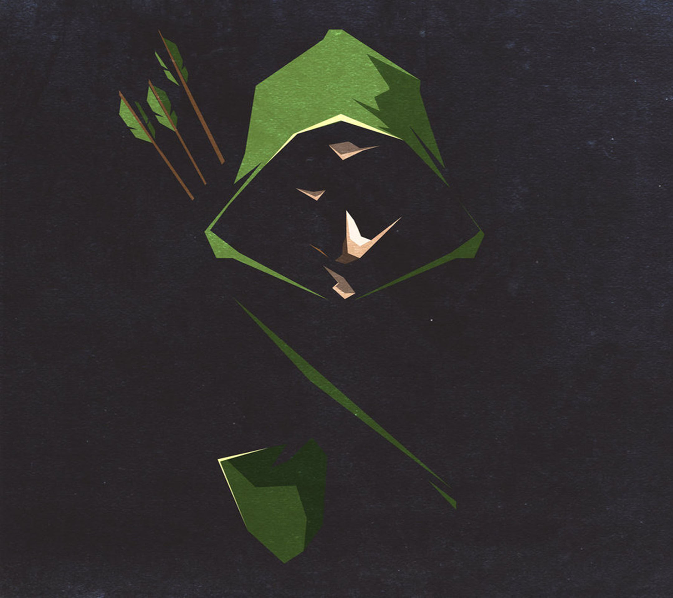 Daily hd wallpaper Green Arrow [2160x1920] 2160x1920