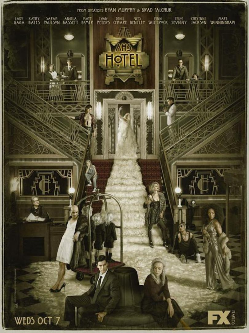 Watch the creepy new opening credits for American Horror Story Hotel 810x1080
