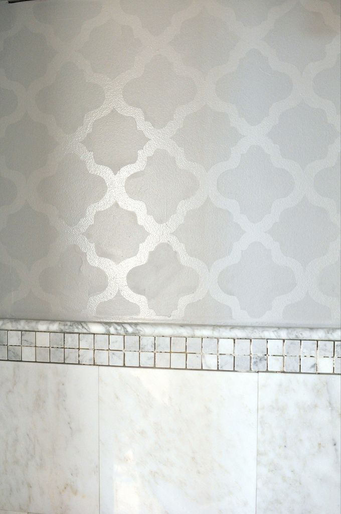 wallpaper that looks like stencils - photo #1