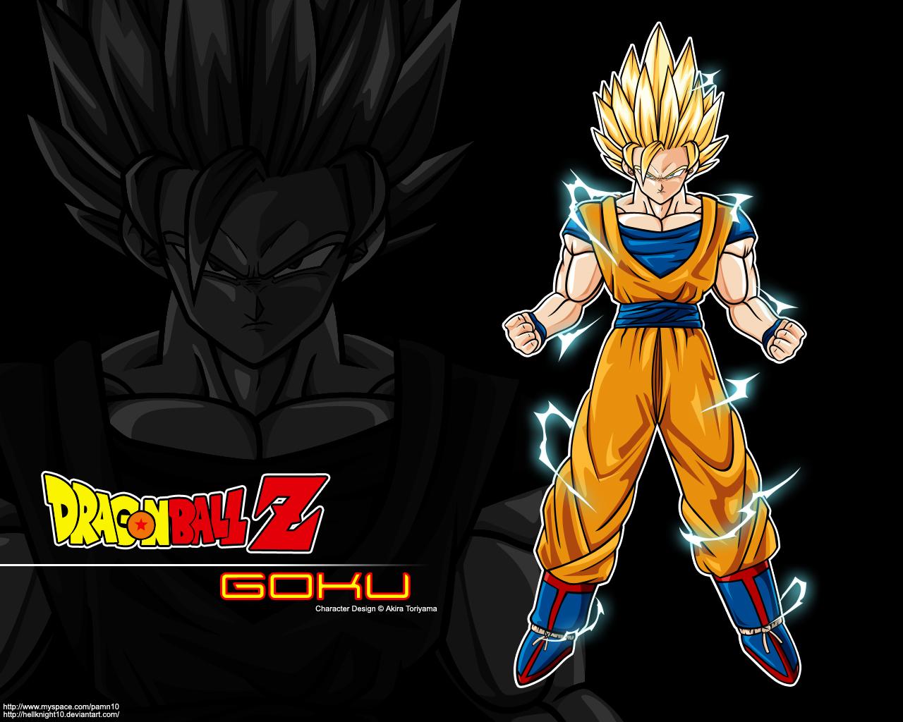 Super Saiyan 2 Goku Wallpaper by Hellknight10 1280x1024