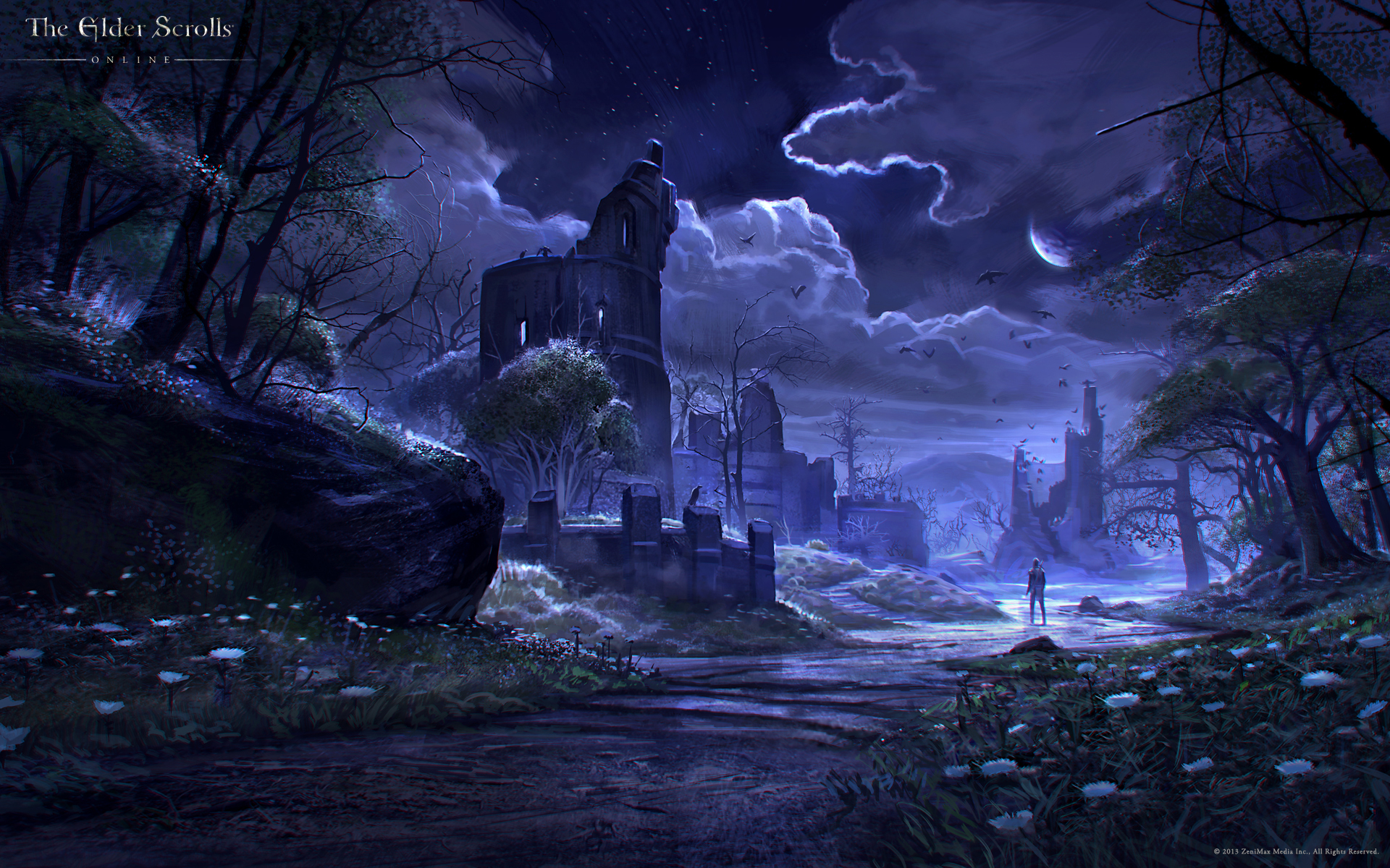 Free Download The Elder Scrolls Online Wallpaper Concept Art