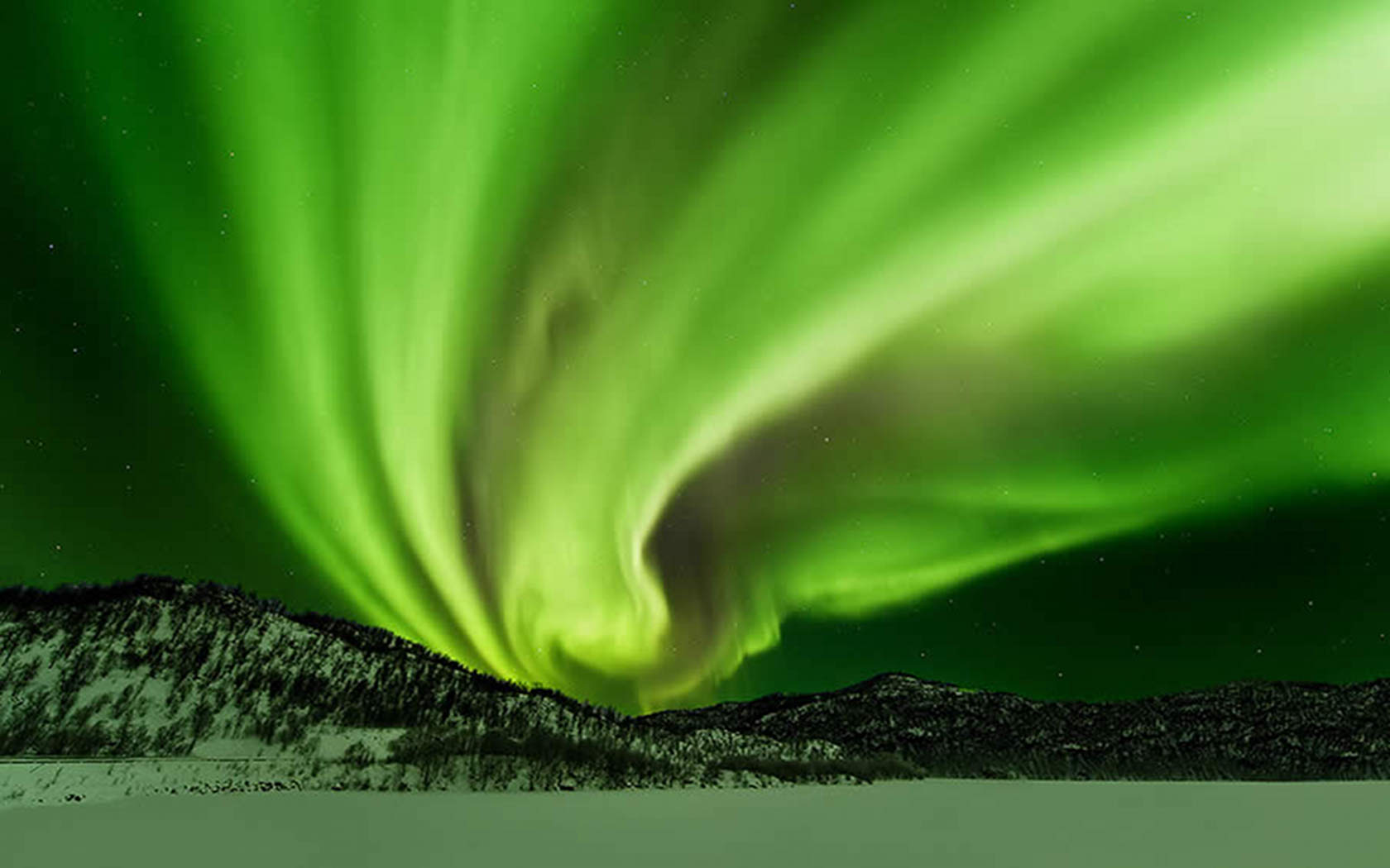 Aurora Borealis Wallpaper hd   HD Wallpapers 1680x1050