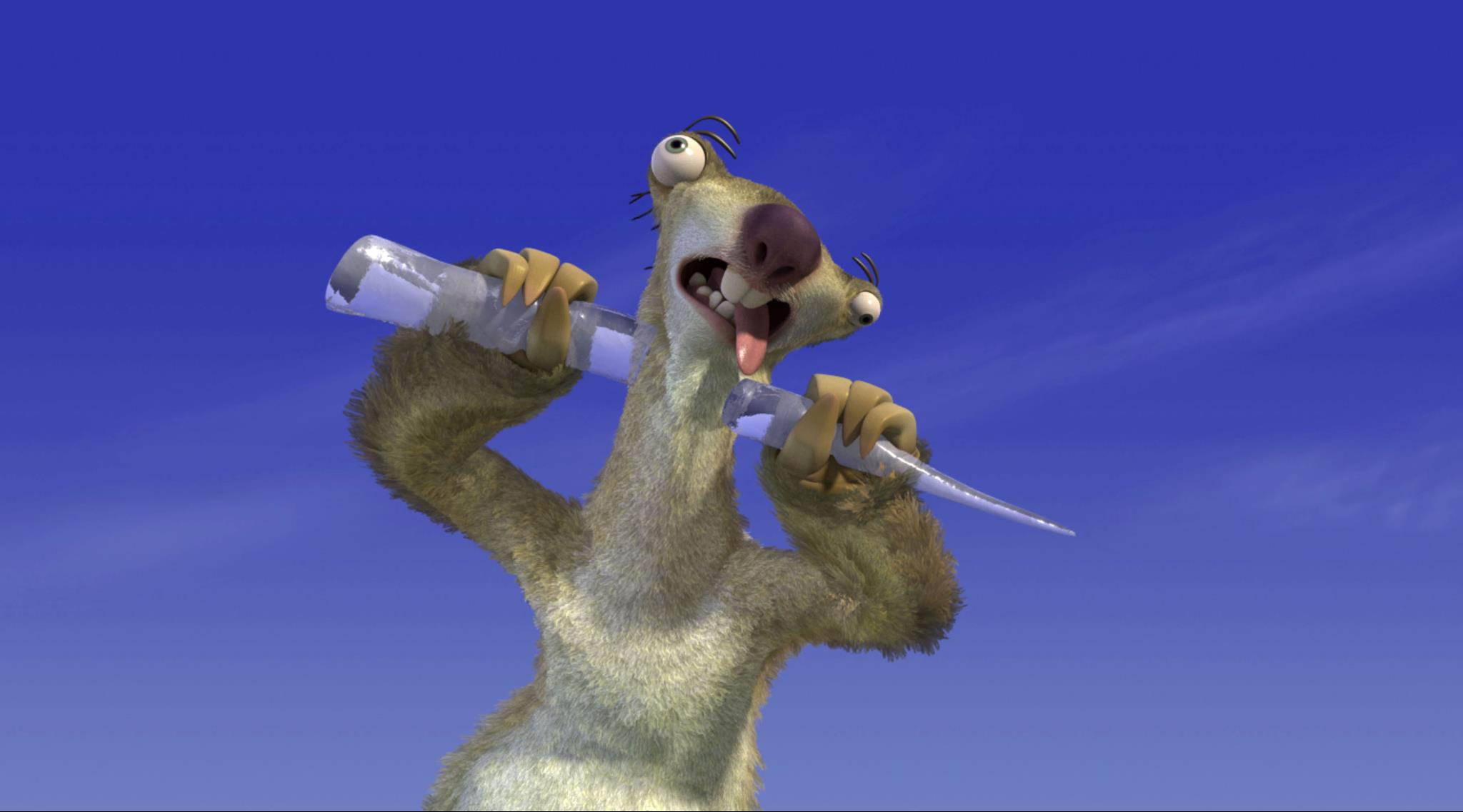 Ice Age Wallpaper Sid