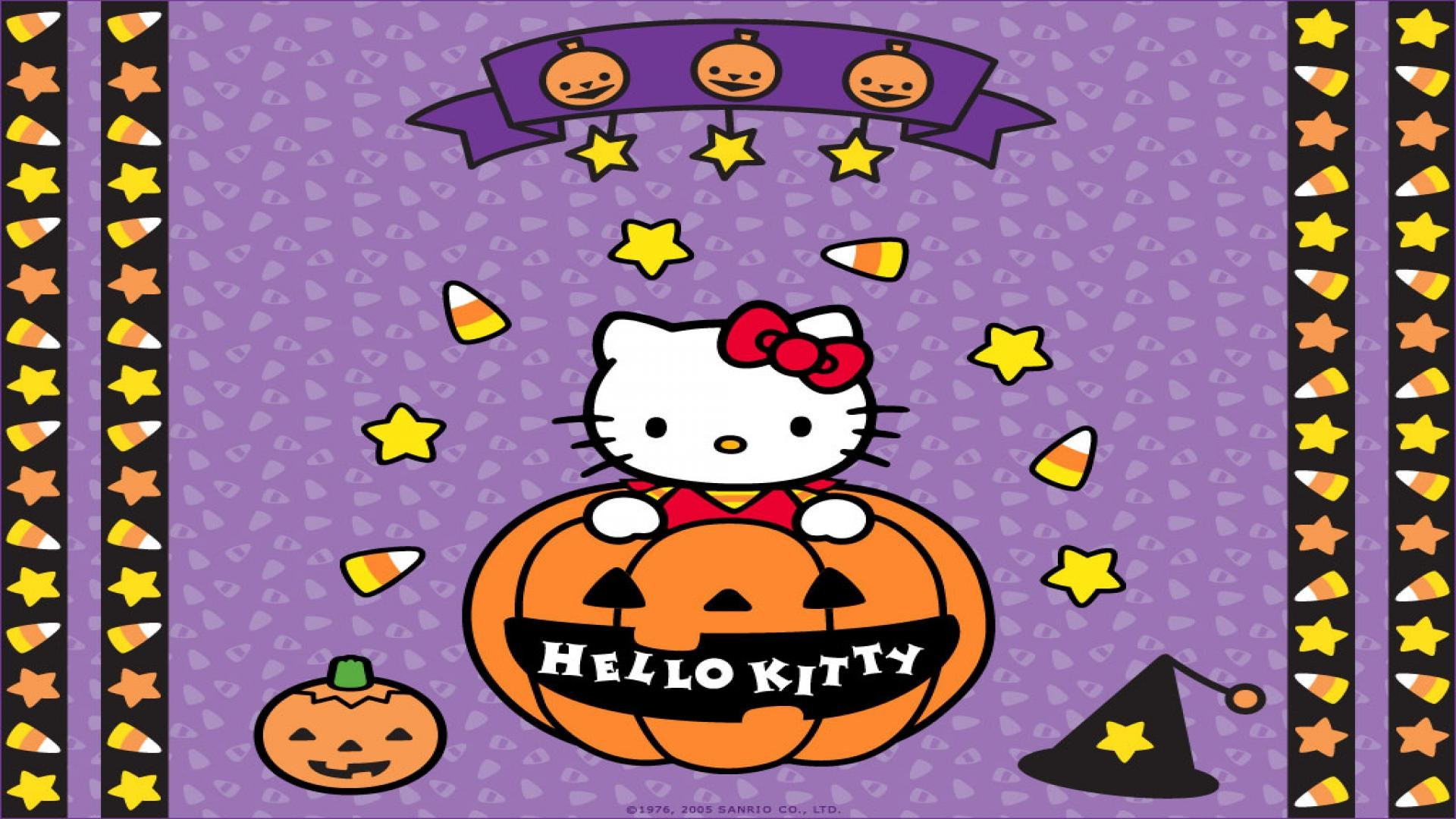 Download Hello Kitty Halloween Wallpapers 1920x1080