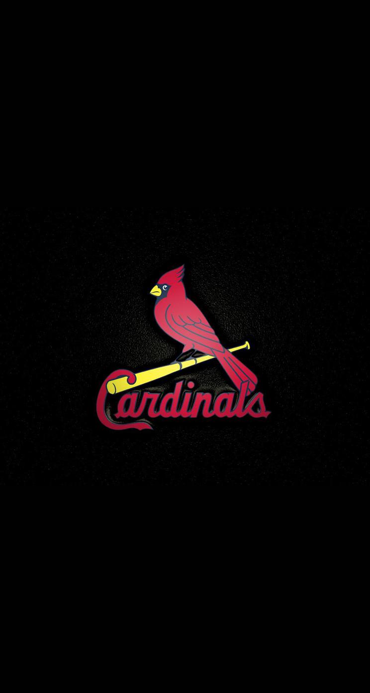 Baseball Wallpaper For Iphone Cardinals logo wallpaper 744x1392
