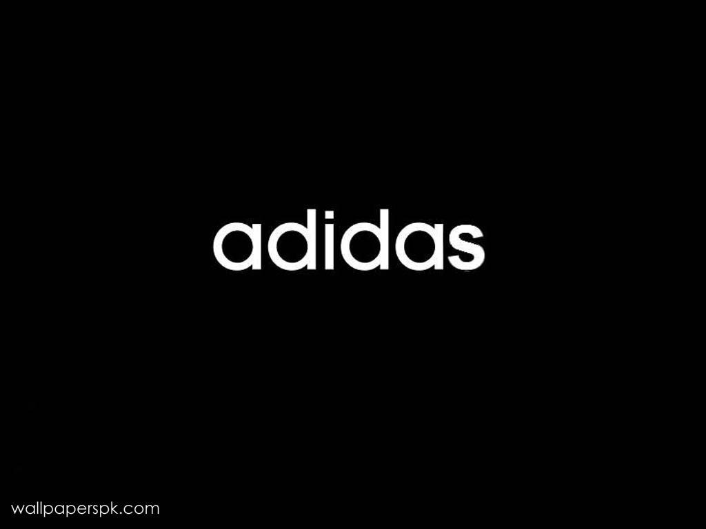Wallpapers Logo Wallpapers black adidas logo 1024x768