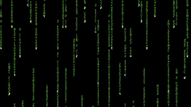 Animated Matrix Code v1 by arrghman 640x360
