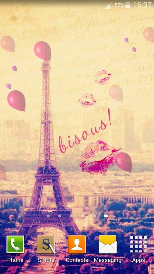 Love Paris Pink Clip Art At Clker Com Vector Clip Art Online Royalty Free Public Domain