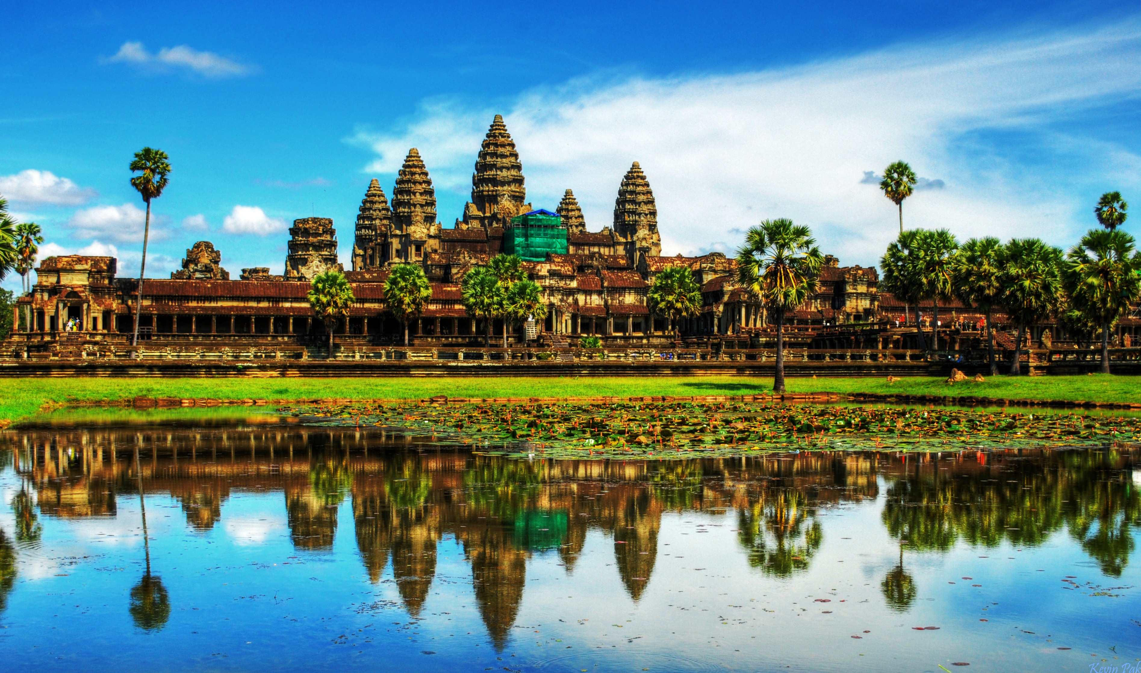 Daily Wallpaper Angkor Wat Cambodia I Like To Waste My Time 3790x2237