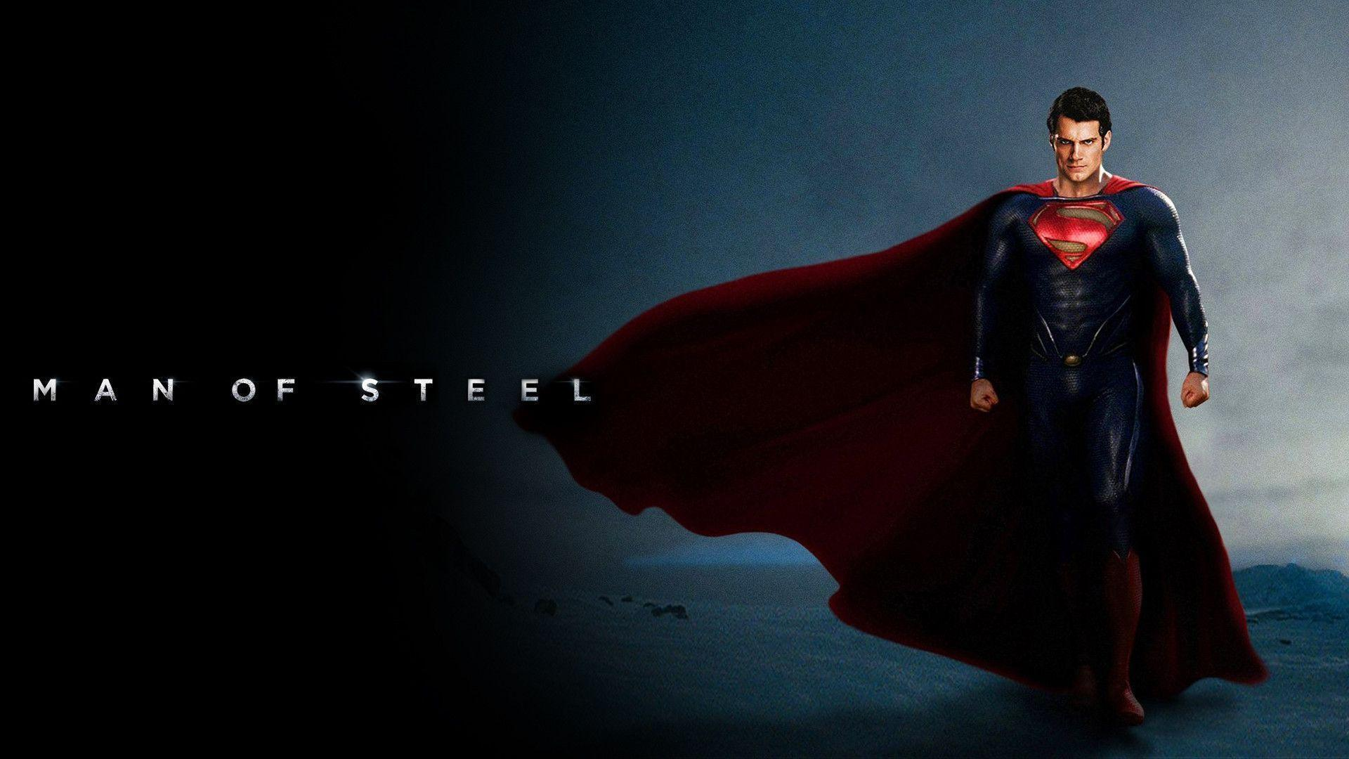 Superman Man Of Steel Backgrounds 1920x1080