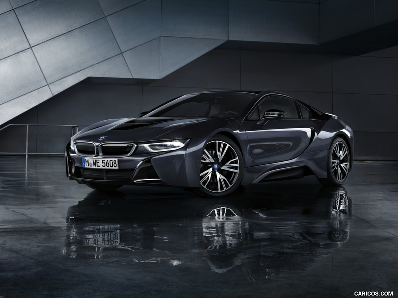 Wallpaper Bmw 7 Series Black Ice Edition 2017 4k: 2017 BMW I8 Wallpapers