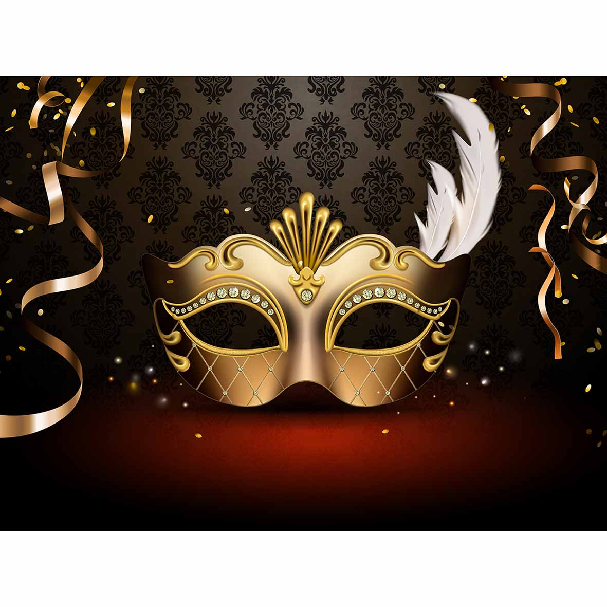 Funnytree backgrounds for photography studio masquerade party 1181x1181