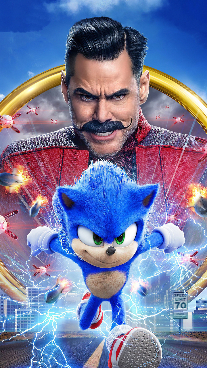 Free Download Sonic The Hedgehog 2020 Movie 720x1280 For Your