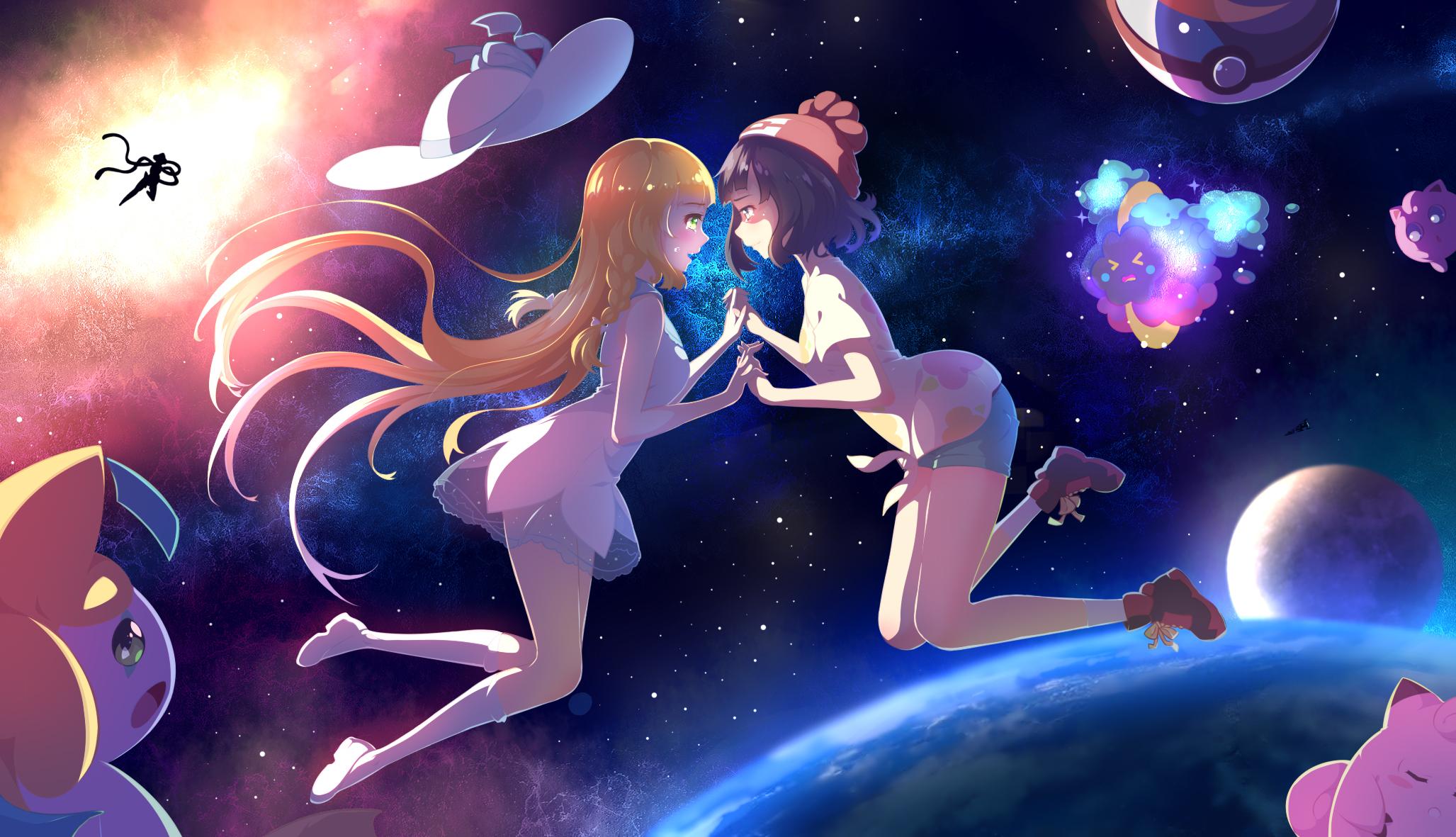 Pokmon Sun and Moon HD Wallpaper Background Image 2055x1181 2055x1181