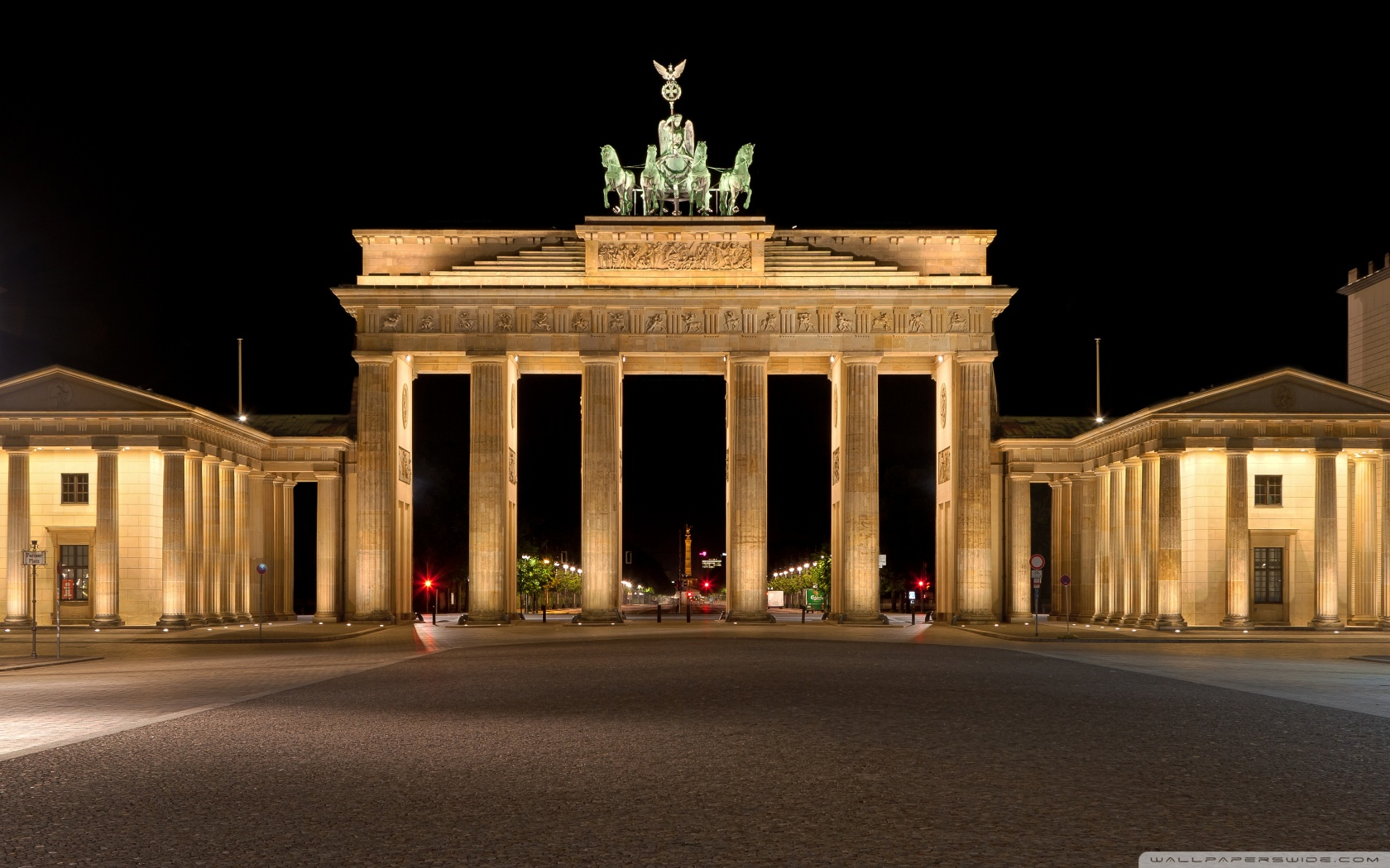 Brandenburg Gate 4K HD Desktop Wallpaper for 4K Ultra HD TV 1680x1050