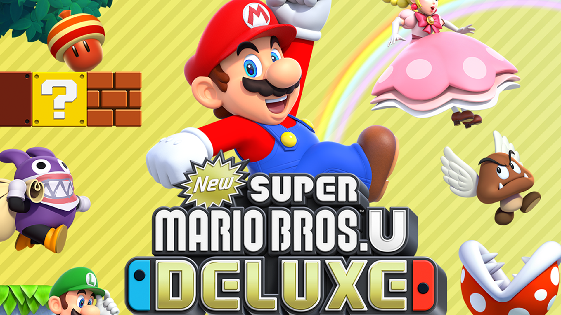 New Super Mario Bros U Deluxe Coming to a Switch Near You 1920x1080