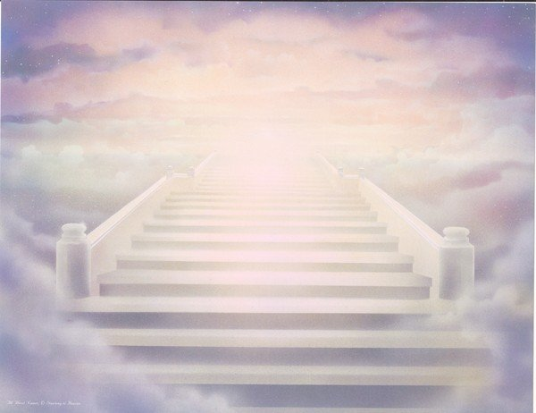 stairway to heaven background - photo #28
