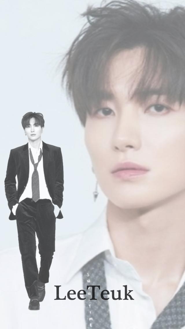 Super Junior   Leeteuk   iPhone Wallpaper by aplantage 640x1136