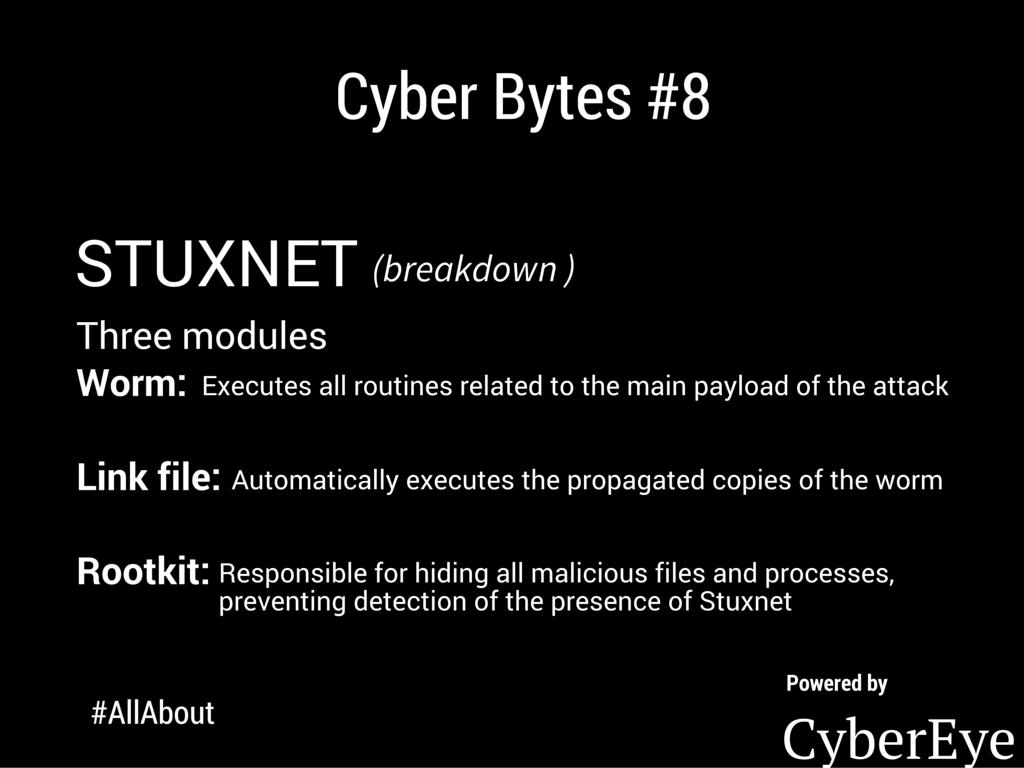 CyberEye on Twitter 37 cyberbytes cybereye Stuxnet 1024x768