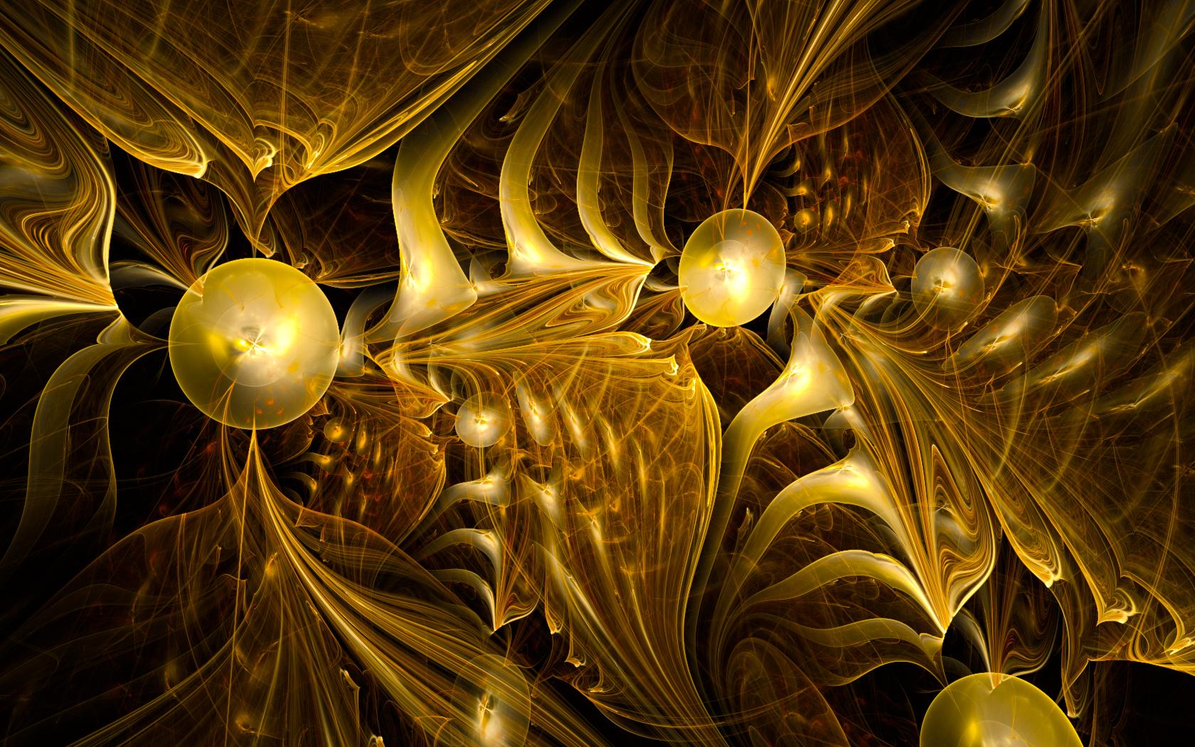Gold Rush by Anyzamarah 1680x1050