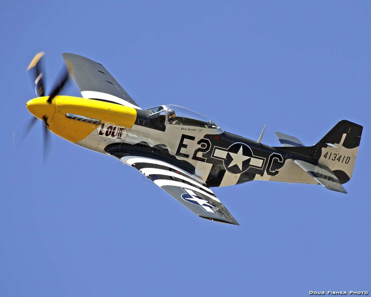 View Of North American P51 Mustang Wallpaper Hd Wallpapers 1280x1024