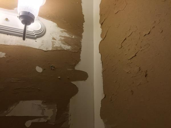 Wallpaper removal damage What to do   DoItYourselfcom Community 600x450
