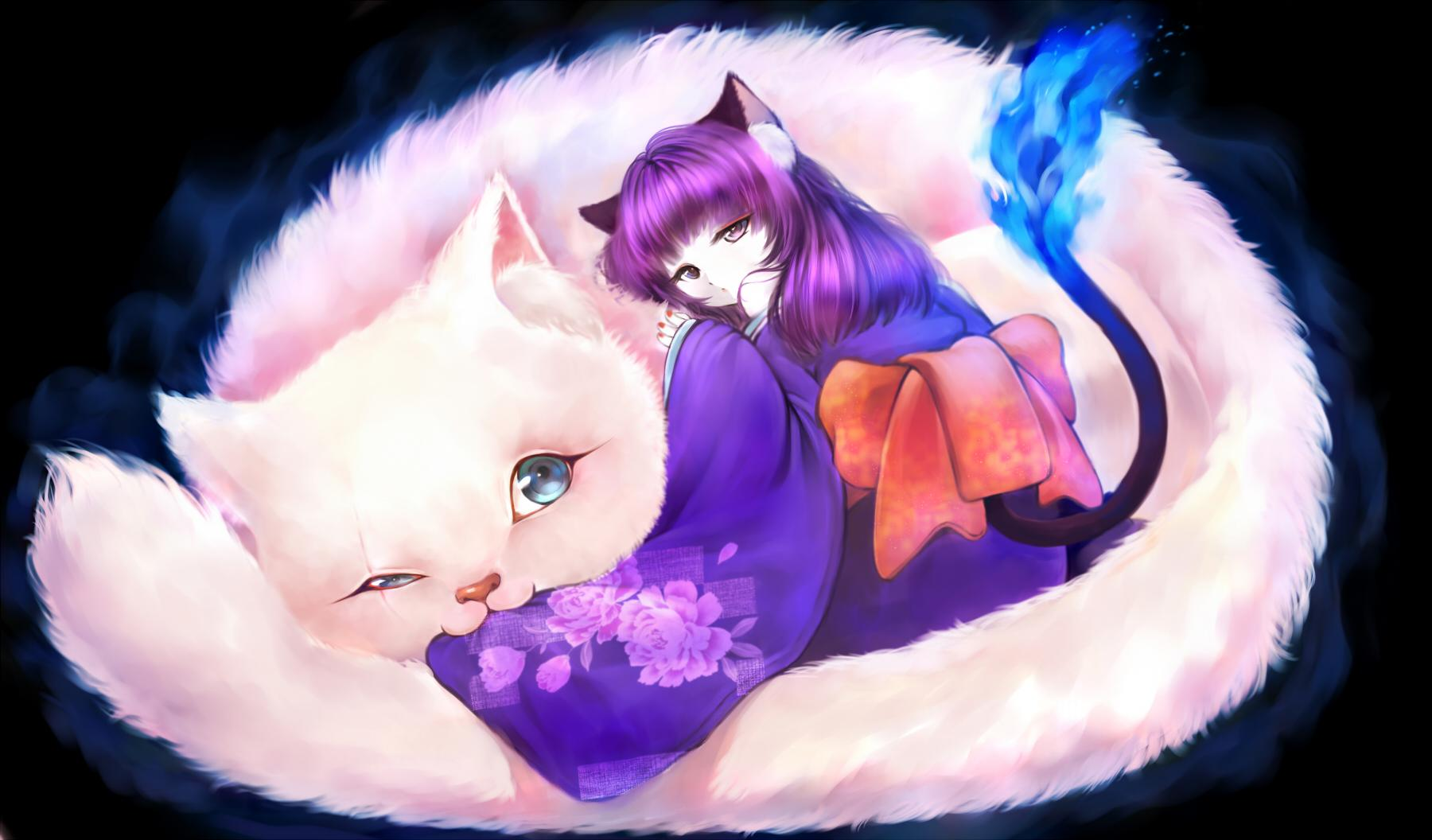Neko Girl Wallpapers 73 1800x1056