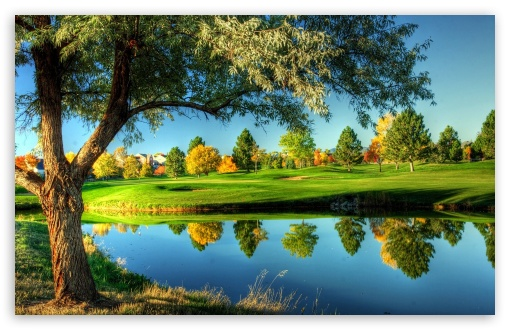 Golf Course Landscape HD desktop wallpaper High Definition 510x330