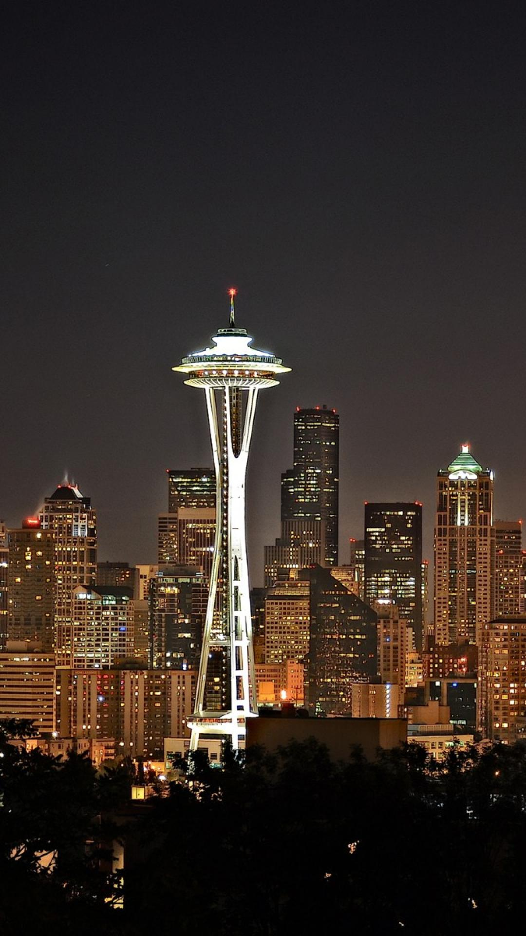 hd seattle skyline wallpapers wallpapersafari