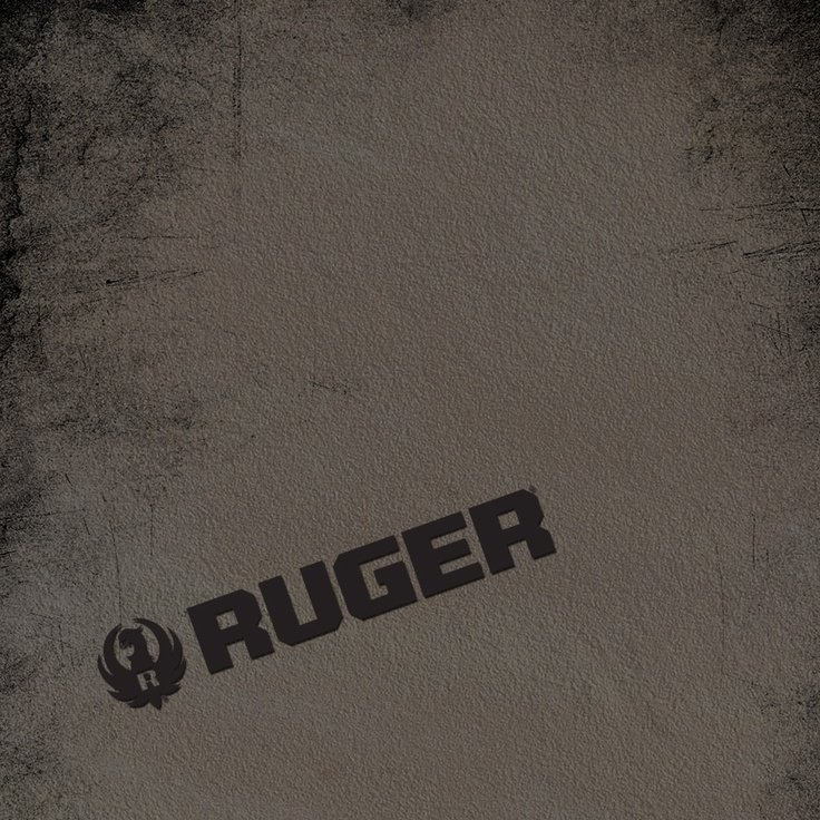 Ruger Logo Wallpaper   Scuffed Hard RLogo Wallpapers Ruger Graphics 736x736