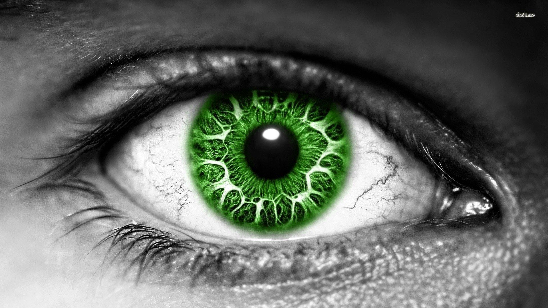 Green eye wallpaper 1280x800 Green eye wallpaper 1366x768 Green eye 1920x1080