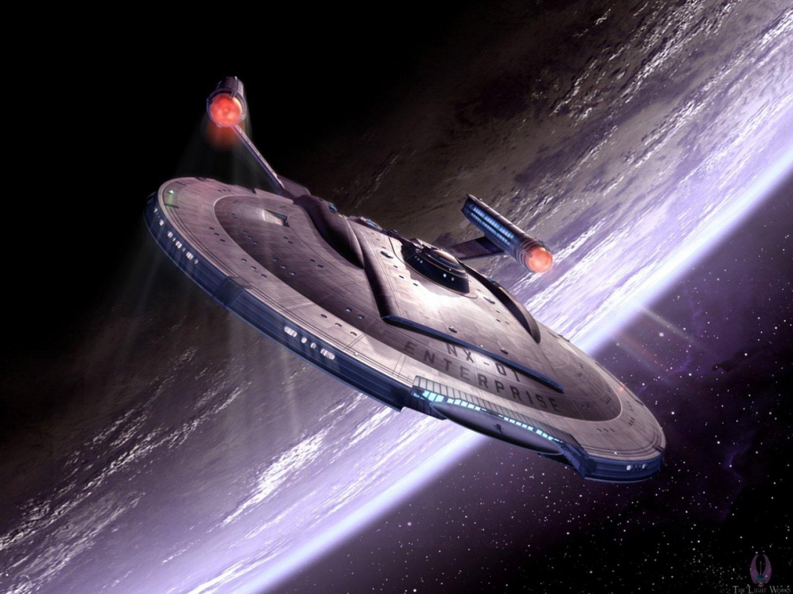 Star Trek Enterprise NX 01 starship by The Light Works 1600x1200