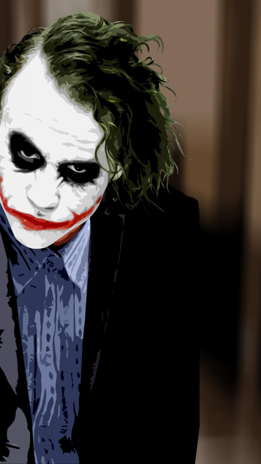 41 Heath Ledger Joker Wallpaper Hd On Wallpapersafari