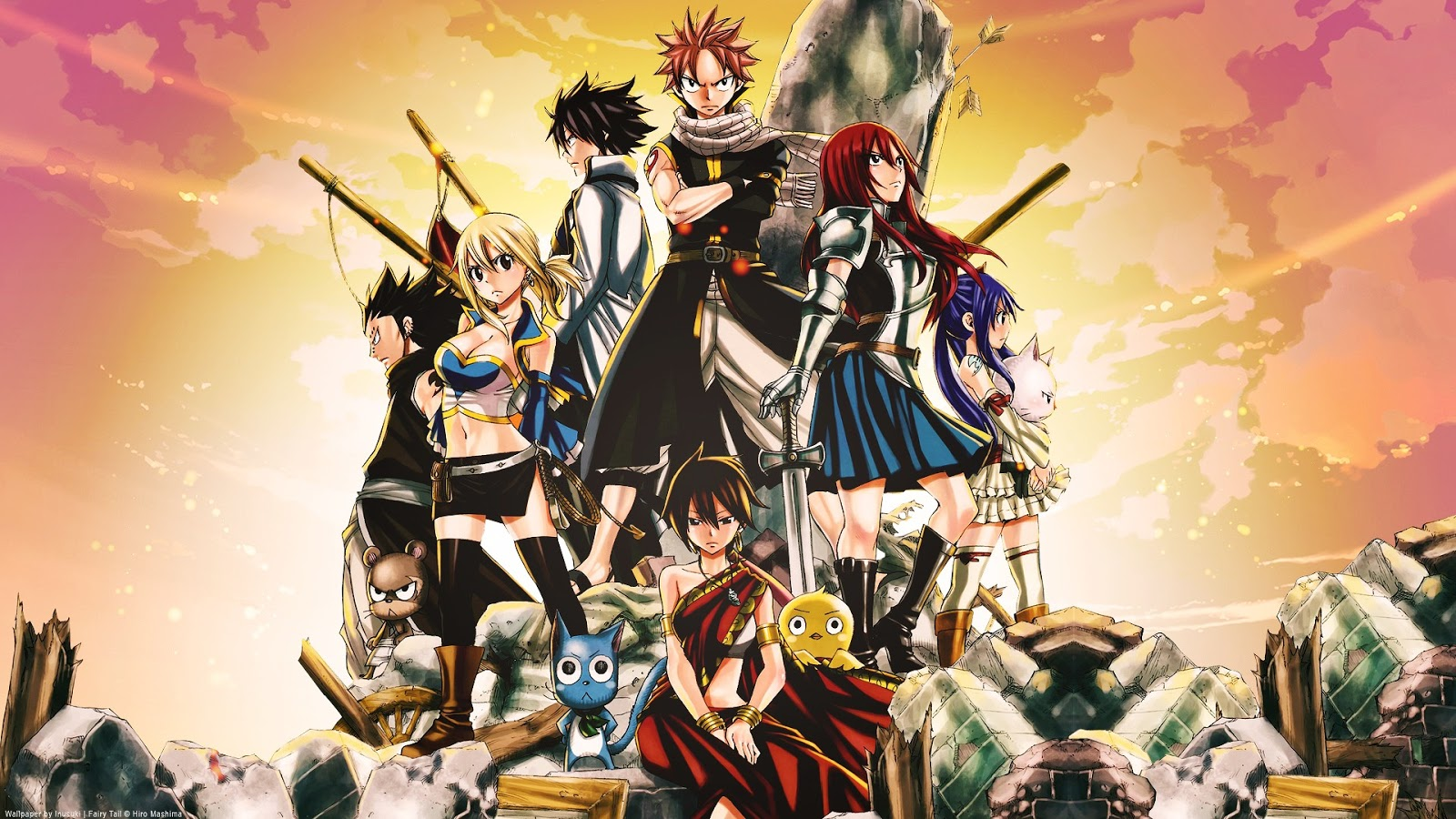 Tales of Eternal Epicness Fairy Tail 1600x900