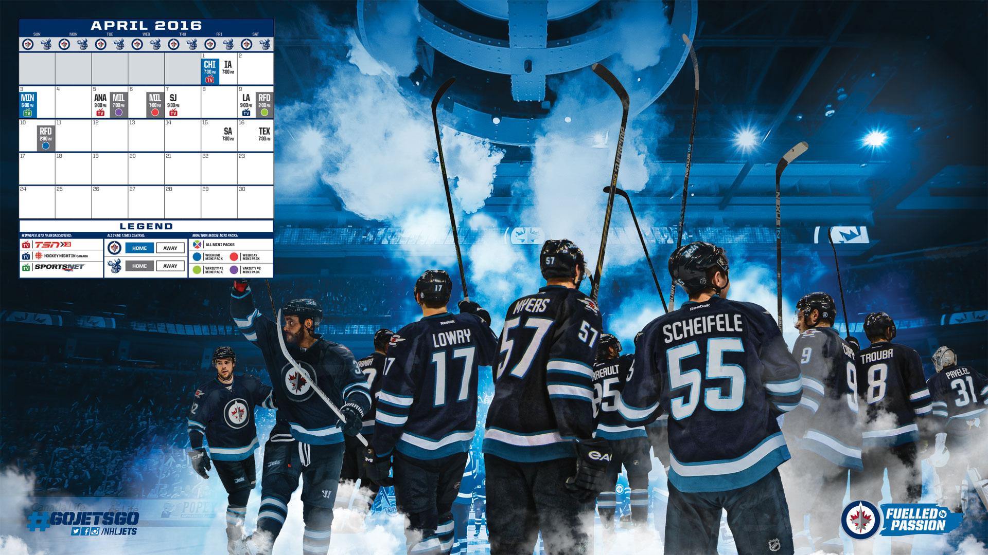 Digital Fan Downloads   Winnipeg Jets   Fan Zone 1920x1080
