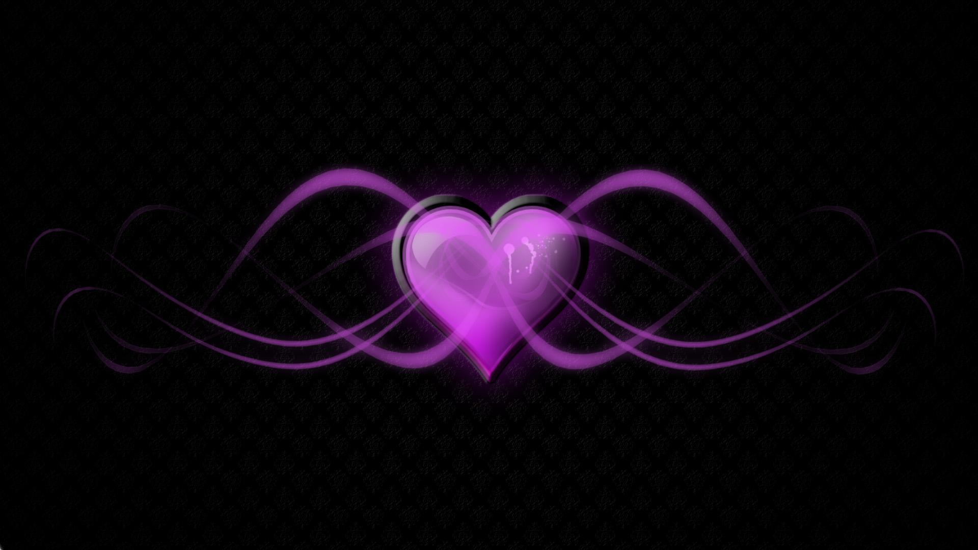 purple love wallpaper wallpapersafari