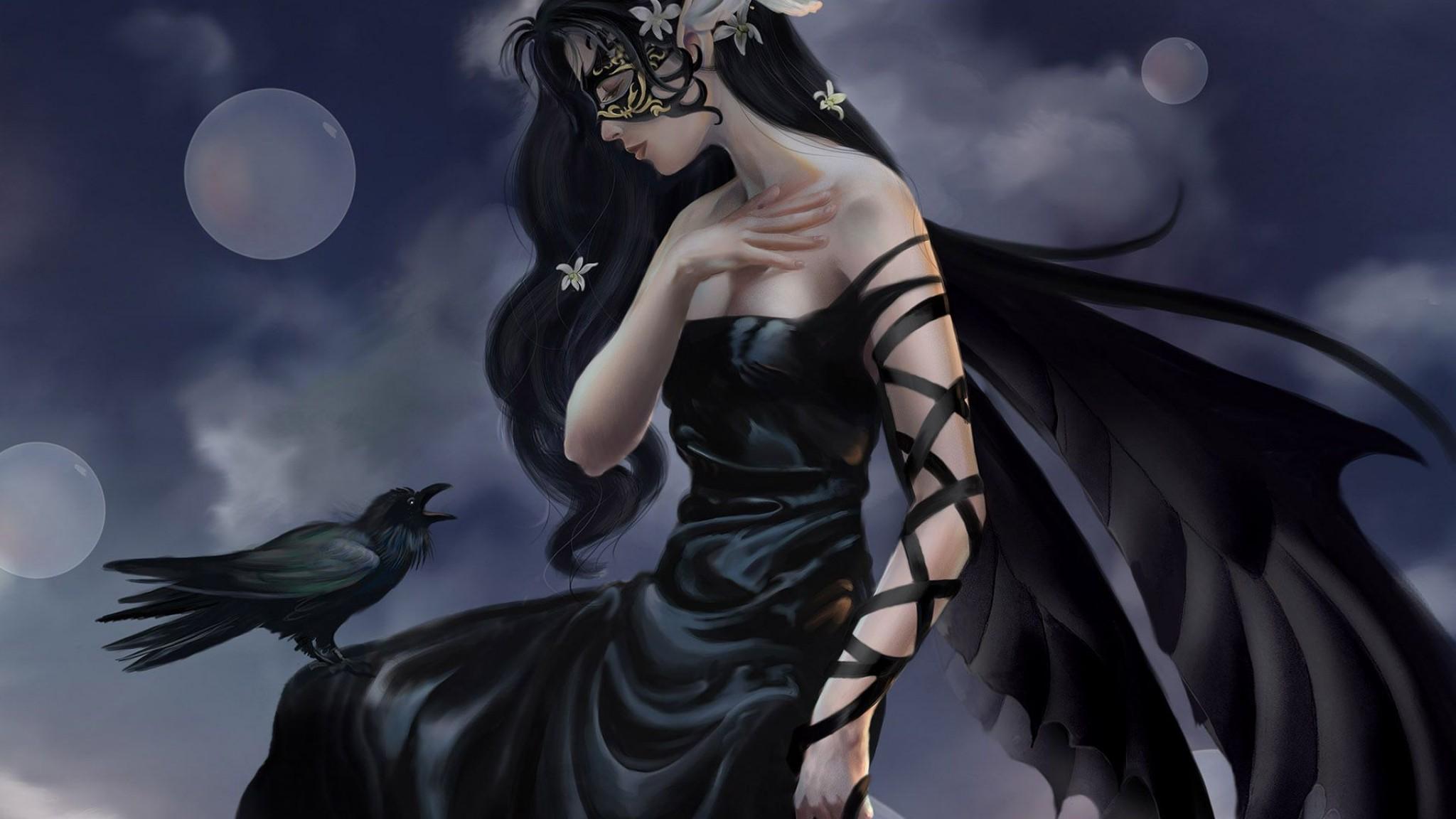 Dark Fairy Wallpapers, wallpaper, Dark Fairy Wallpapers hd ...
