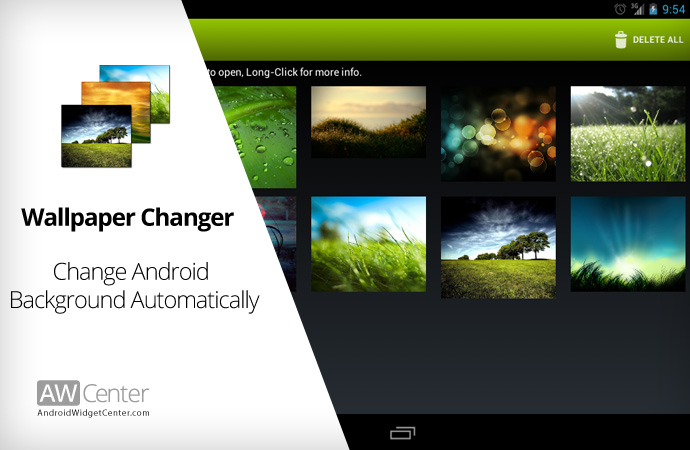 Change Android Background Automatically with Wallpaper Changer AWC 690x450