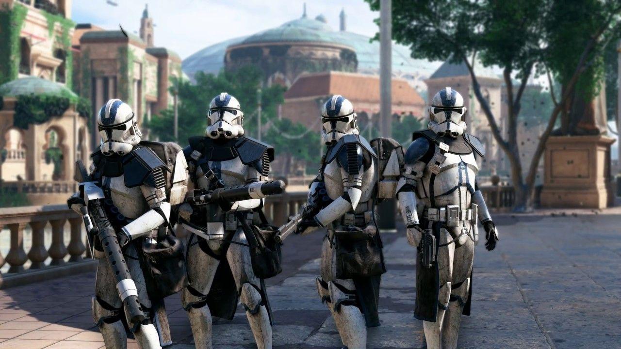 501st Legion Destroy the MTT   Star Wars Battlefront 2 1280x720