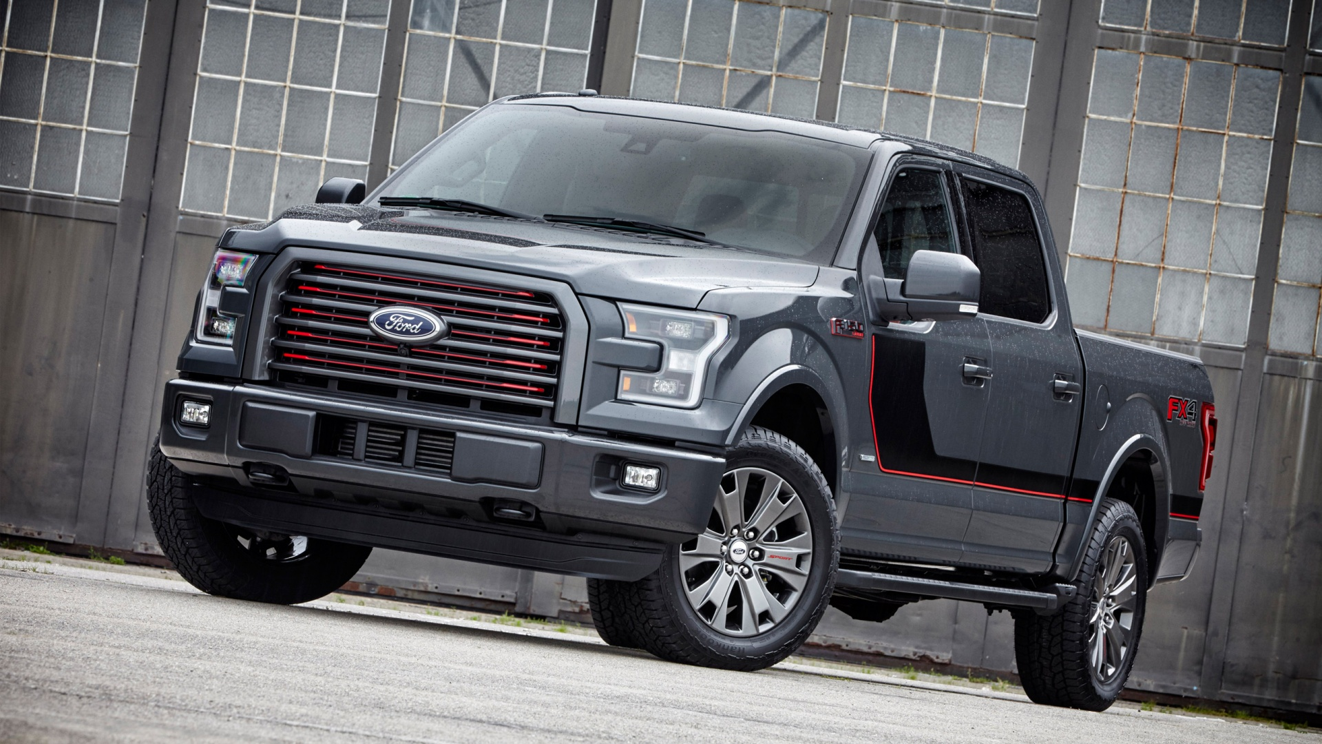 2016 Ford F 150 Lariat Appearance Package Wallpaper HD Car 1920x1080