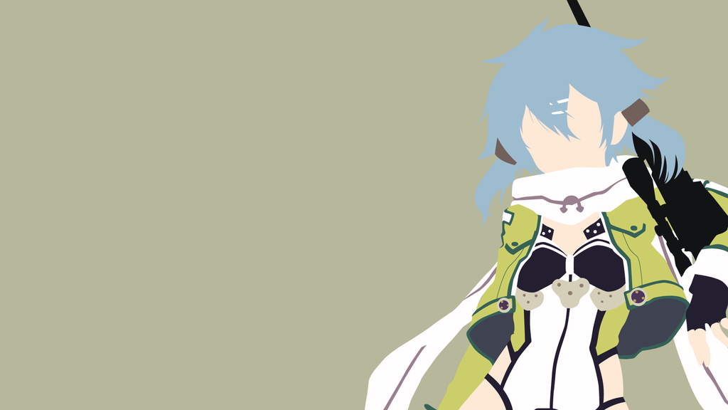 Sinon GGO version from SAO 2 Minimalist by matsumayu 1024x576