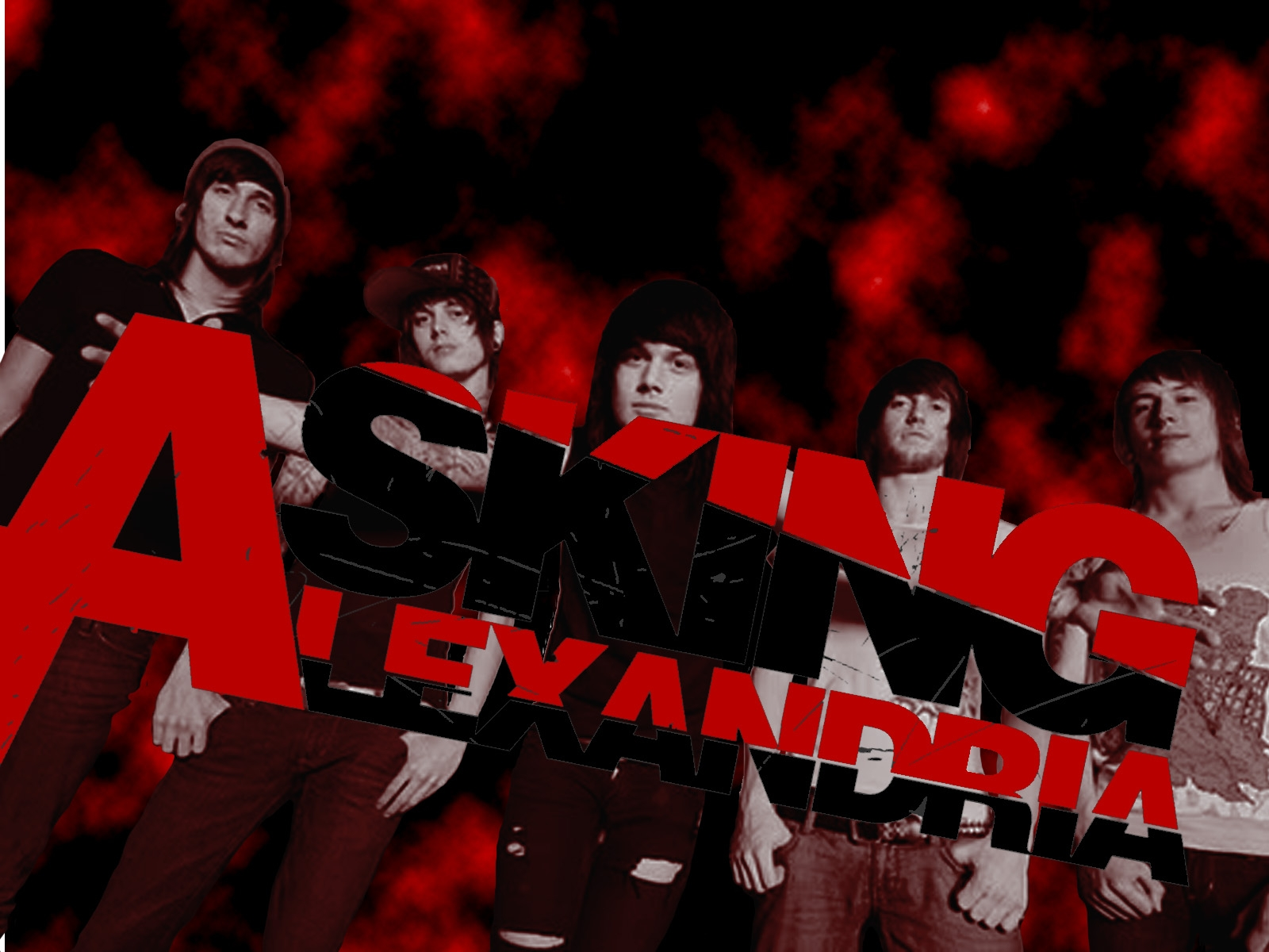 Asking Alexandria 1600x1200