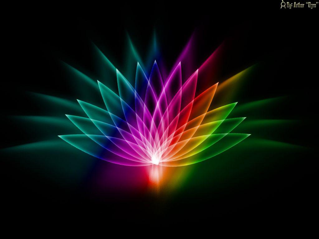 Free Hd Neon Abstract Wallpaper Wallpapersafari