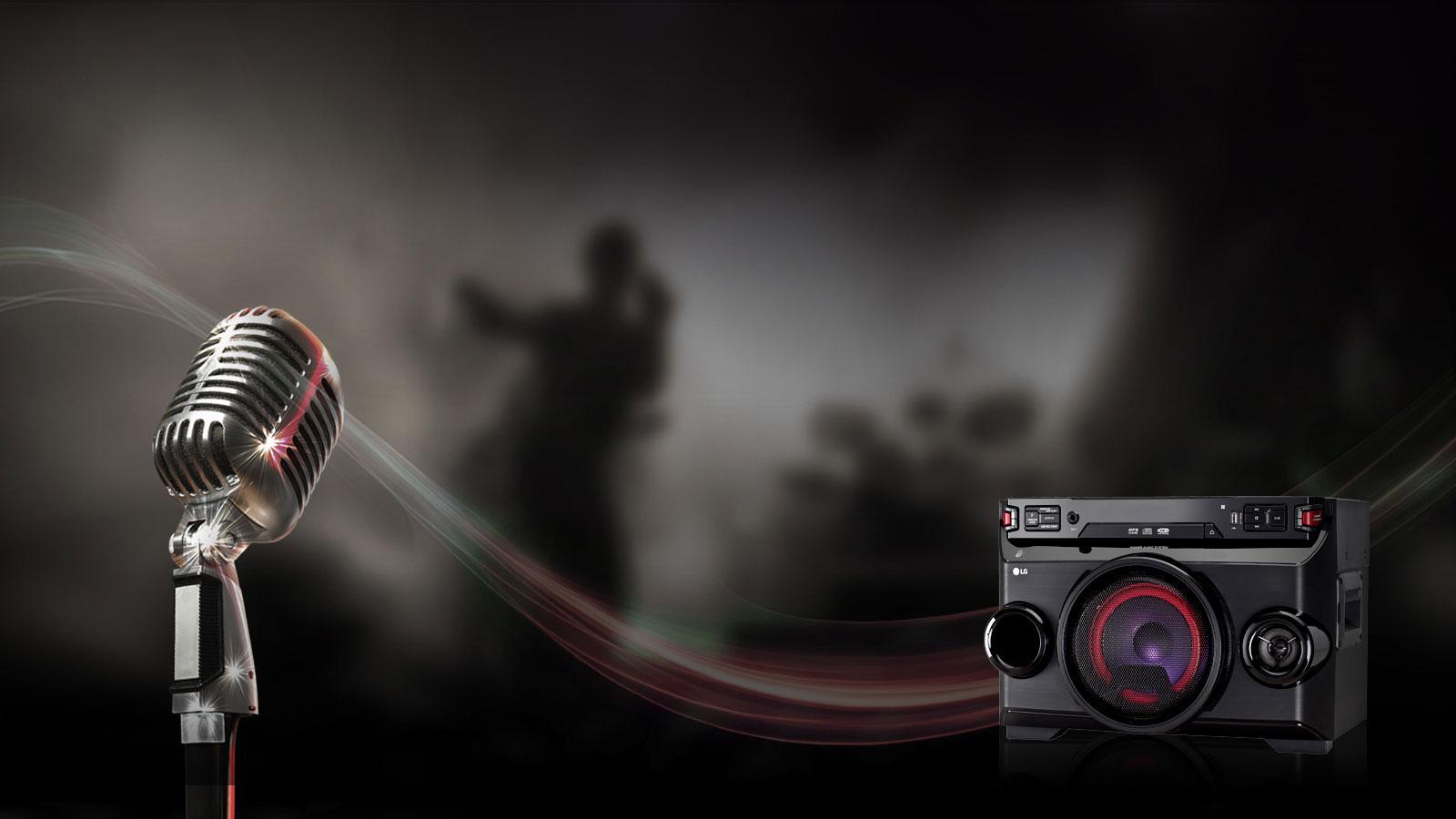 LG XBOOM OM4560 220W Hi Fi Entertainment System with Bluetooth 1600x900