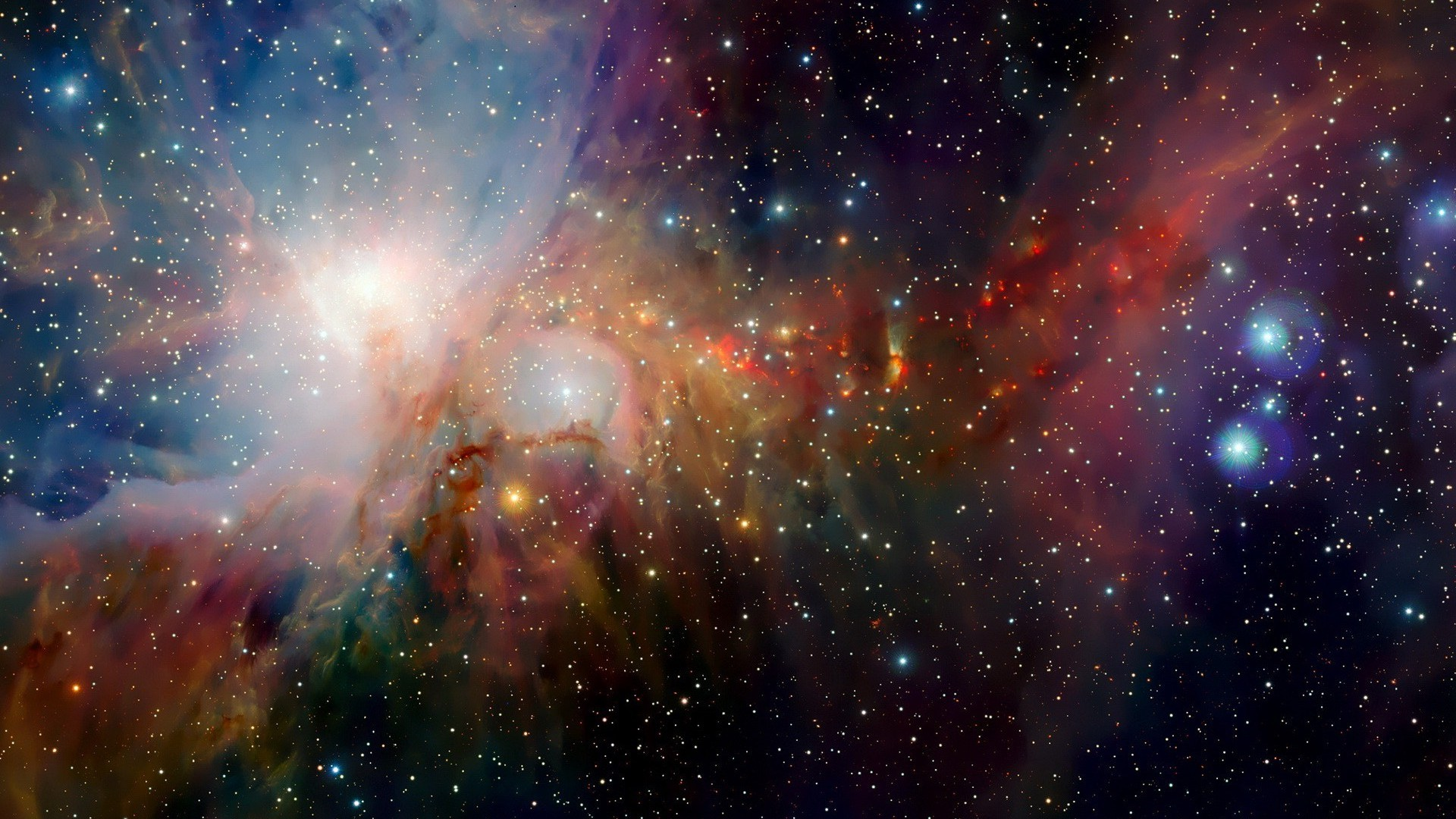 Wallpapers Space Awesome Nebula Wallpaper 1920x1080